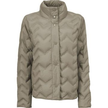 Tuva quilted jacket - taupe