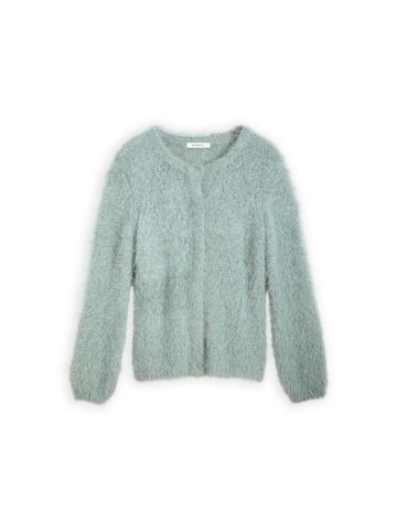 Super soft cardigan with button closure