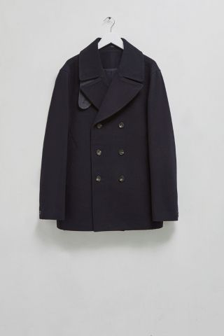 Winter Melton Pea Coat