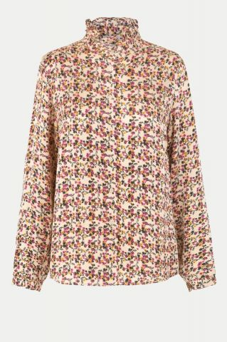 Decor shirt in an all over floral print