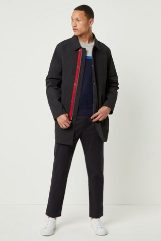 Mac coat in a Polyester twill