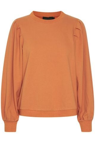 Pleat sweatshirt - Ginger