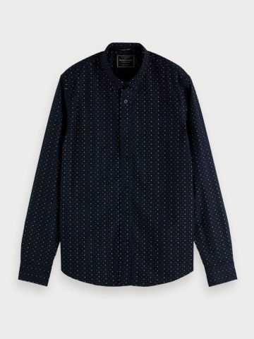 Printed Classic Oxford Shirt Reg Fit