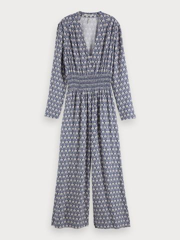 All over printed jumpsuit
