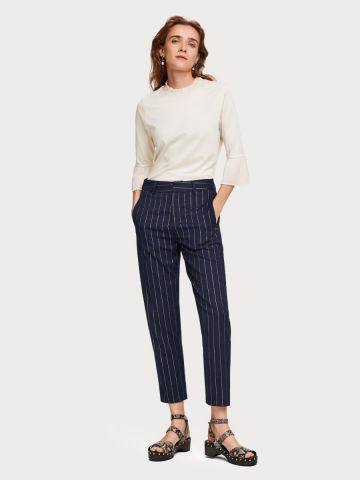 Special shiny pinstripe trouser
